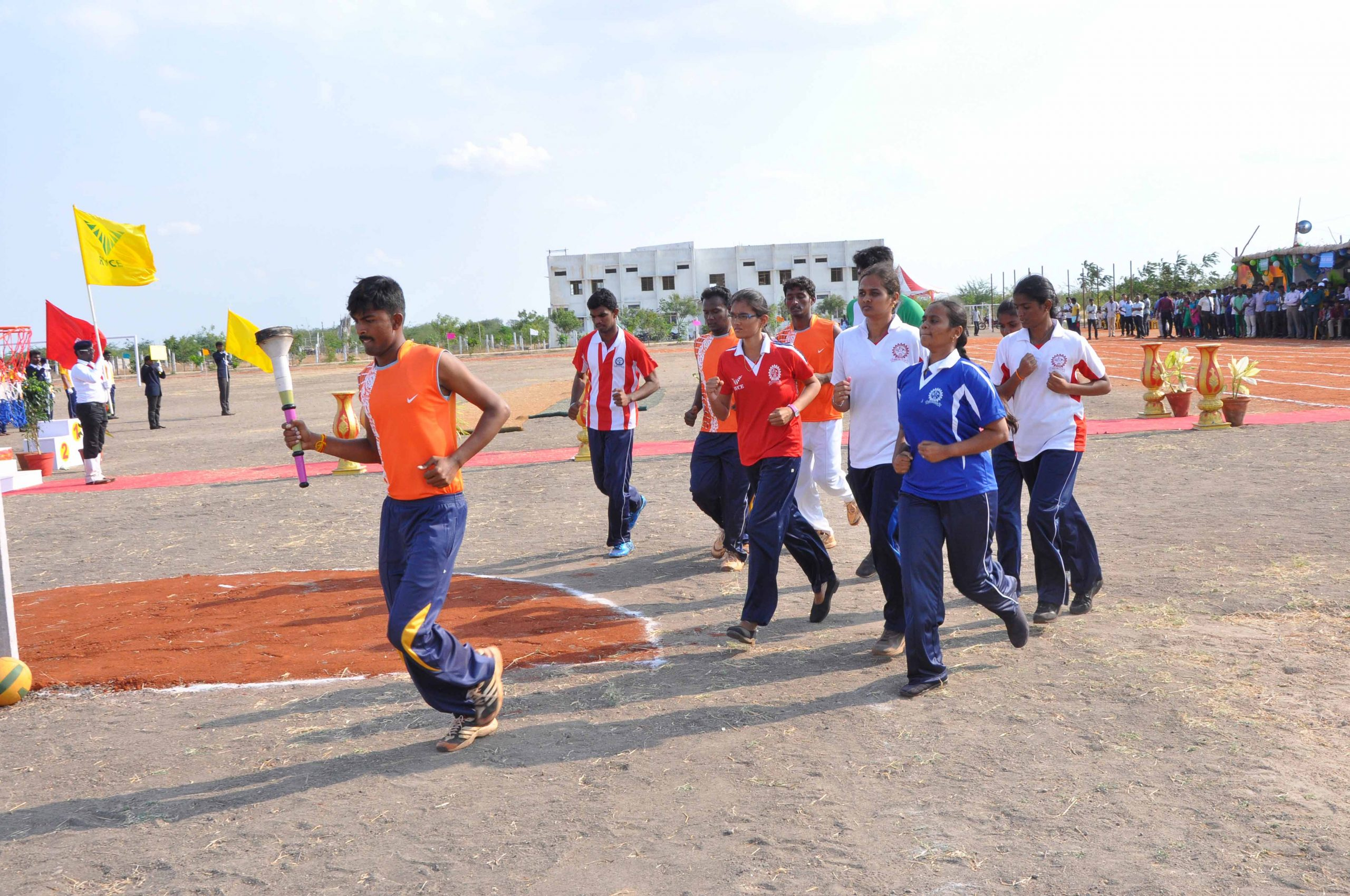 RVCE Sports Day 2015