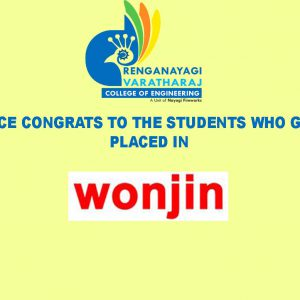 RVCE – Students Placed in WONJIN