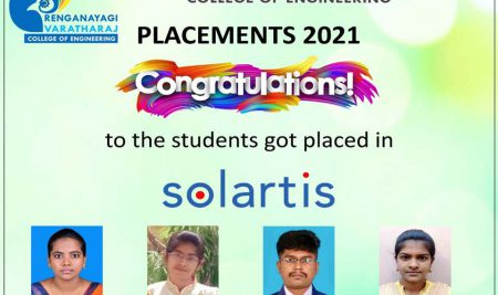 RVCE – Students Placed in Solartis