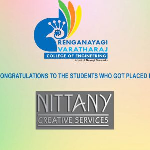 RVCE – Students Placed in NITANY CREATIVE SERVICES
