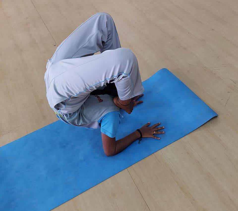 RVCE Yoga Competition 2021