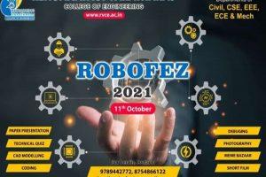 RVCE – Robofez Cover