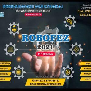 ROBOFEZ – RVCE 2021