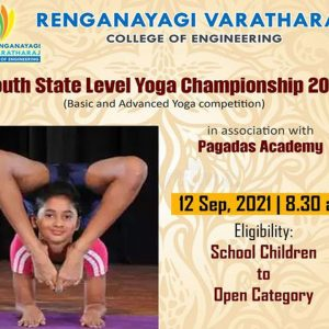 State Level Yoga Competition at RVCE 2021